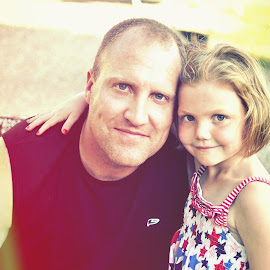 Daddy's Girl by Kim Price - People Family ( love, princess, hugs, daddy, only daughter, summertime, fun times )