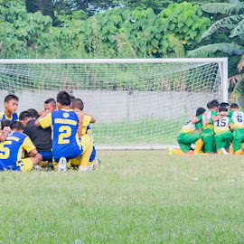 in ONE! by Empty Deebee - Sports & Fitness Soccer/Association football ( davao city, football, soccer )