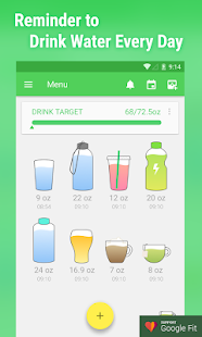 Water Drink Reminder APK for Bluestacks