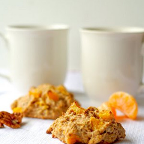Orange-Pecan Scones for Two
