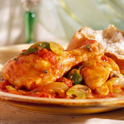 Slow Cooker Chicken Cacciatore Recept | Yummly