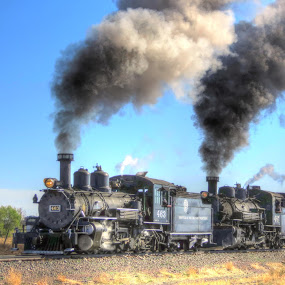 by Nancy Tharp - Transportation Trains