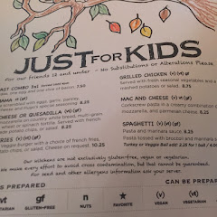 This is their kids menu which shows all items can be gf. Whoever was told Hugos isnt gf friendly was straight up lied to.