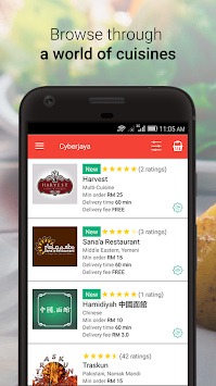 FoodTime - Order Food Online & Food Delivery APK screenshot thumbnail 3