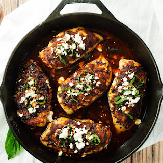Sun-Dried Tomato and Basil Baked Chicken