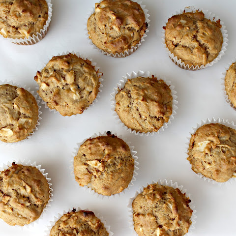 Spiced Apple Sweet Potato Muffins