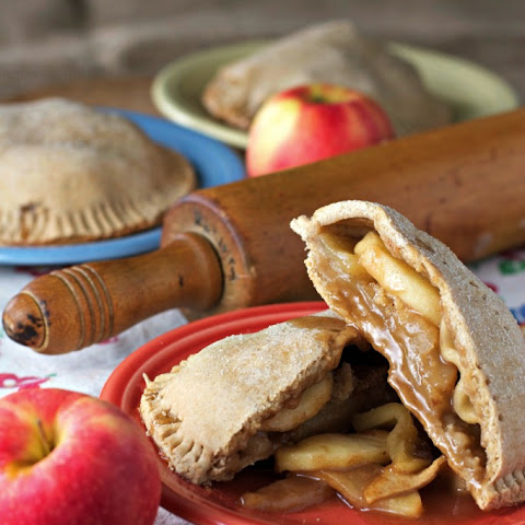 Whole Wheat Apple Hand Pies ~vegan~