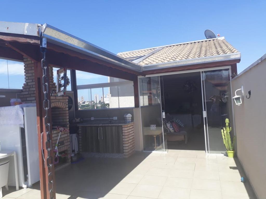 Cobertura à venda, 100 m² por R$ 399.000,00 - Vila Camilópolis - Santo André/SP