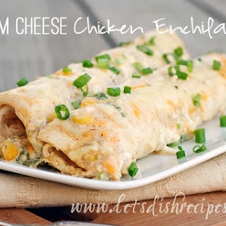 Cream Cheese Chicken Enchiladas Sour Cream Recipes