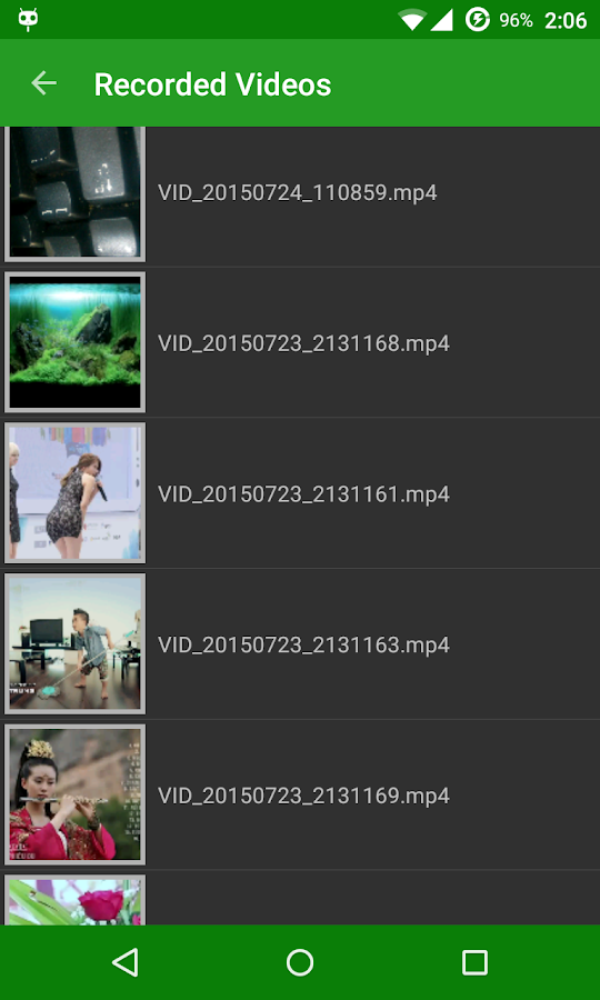 Hidden video recorder (HVR) Screenshot 3