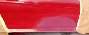 Mercedes C class coupe - Dent and light accident repair
