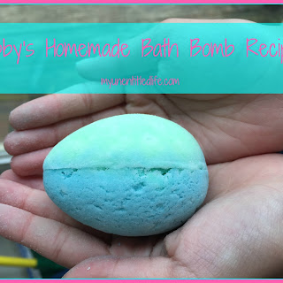 Abby's Homemade Bath Bomb