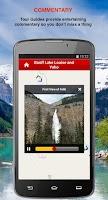 Screenshot of Banff-LakeLouise-Yoho GPS Tour