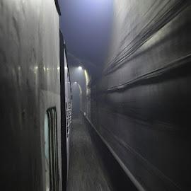 🚂🚃 😍🎌🚞📷 by Swapnil Kosadia - Transportation Trains ( Travelling, GoGoa, Maharashtra, Tunnel, NikonD3200 )