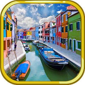 Cover art Escape Games - Burano island