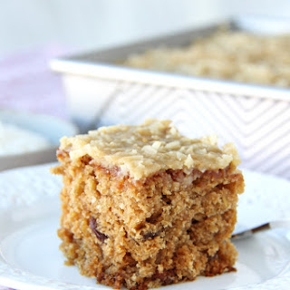 Raisin Oatmeal Sheet Cake