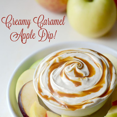 Creamy Caramel Apple Dip!
