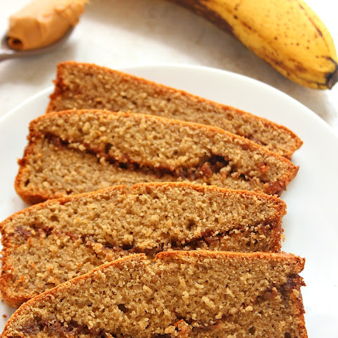 Peanut Butter Banana Blender Bread