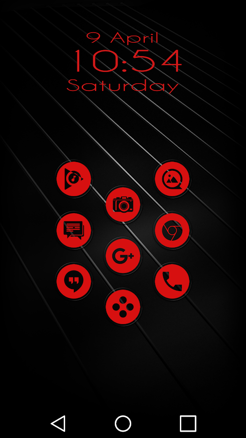 Miller Red - Icon Pack Screenshot 7