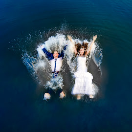by Nenad Ivic - Wedding Bride & Groom