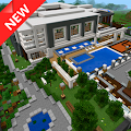 Modern Mansion map for MCPE