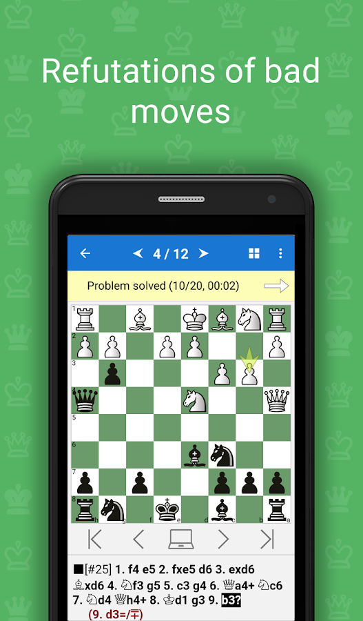 Chess Opening Blunders Screenshot 1