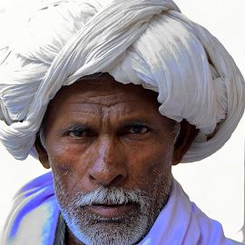 by PINAKI MITRA - People Portraits of Men