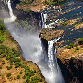 Victoria Falls by Stanley P. - Landscapes Waterscapes