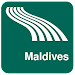 Maldives Map offline Icon