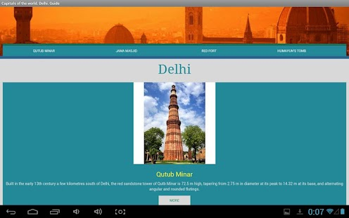 Delhi Traveller's Guide - screenshot