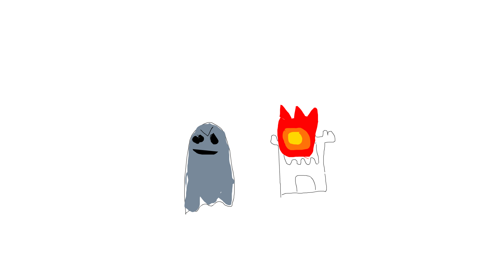 evil ghost