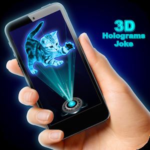 3D Holograms Joke For PC (Windows & MAC)