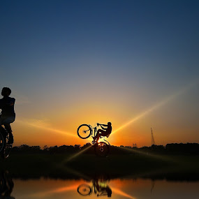 Final Take off by Oms Datum Photography - Transportation Bicycles