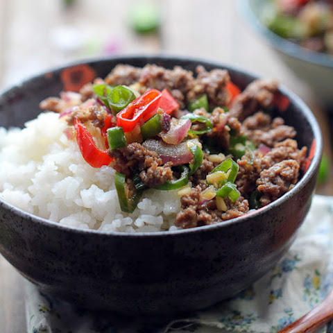 Ground Beef Rice Bowl