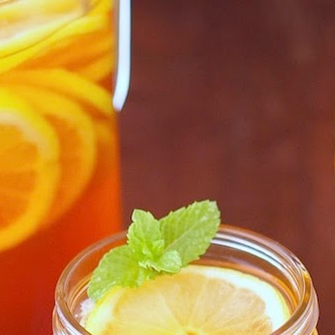 Lemon Mint Sparkling Iced Tea