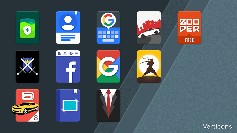 Verticons Icon Pack Screenshot 0