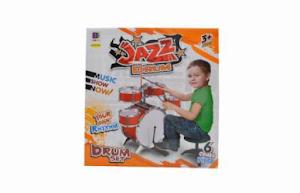 """Игровой набор серии """"Для творчества"""", ударная установка-барабан, оранжевый"""