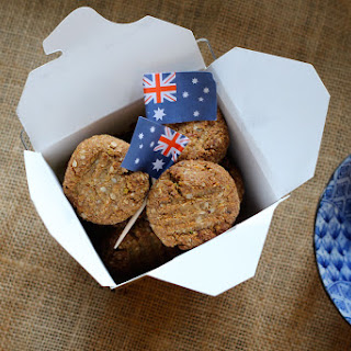 Gluten Free Anzac Biscuits with Pecan & Pistachio