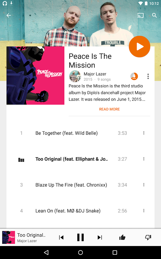 Google Play Music Screenshot 12