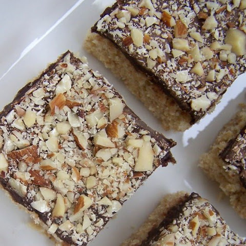 Chocolate Almond Squares