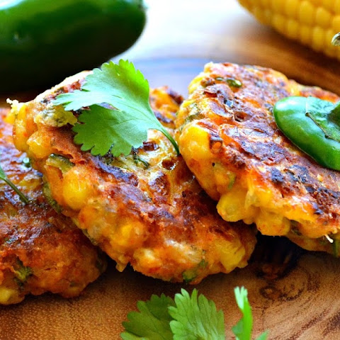 Corn 'n' Jalapenos fritters