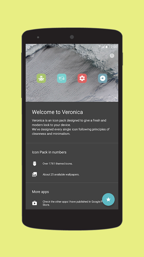Veronica - Icon Pack Screenshot 6
