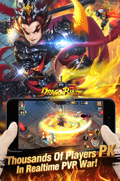 Dragon Blade - New Version War Screenshot 4