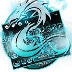 Neon Dragon Keyboard Theme Icon