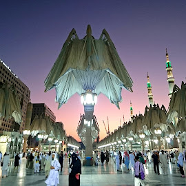 Nabawi Mosque by Mulawardi Sutanto - Buildings & Architecture Places of Worship ( medina, mosque, holy, travel, nabawi )