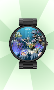 Coral Reef Aqua WatchFace Live - screenshot