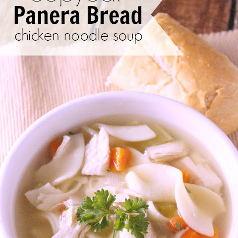 CopyCat Panera Bread Chicken Noodle Soup