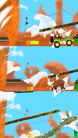 android RollerBlades Survivor Tornado Screenshot 2