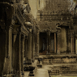 Lost in Ruins by Rebecca Pollard - Buildings & Architecture Public & Historical