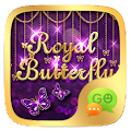 Download GO SMS ROYAL BUTTERFLY THEME APK on PC